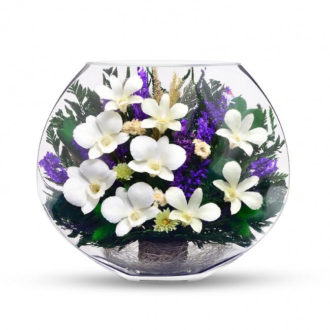 Живые цветы в вакууме из раздела